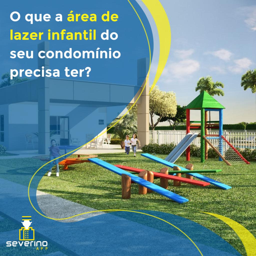 área de lazer infantil no condomínio